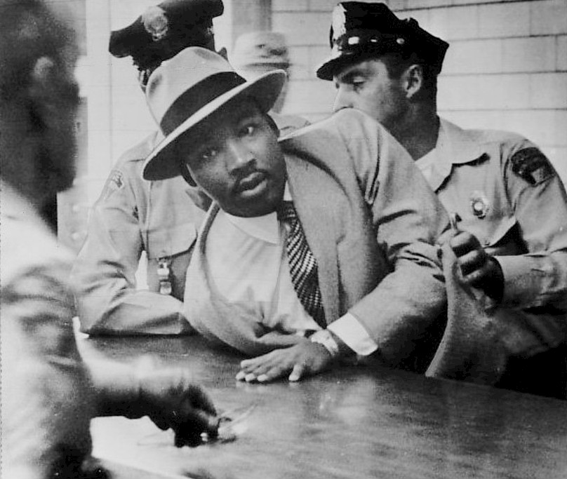 2016-01-19-1453218206-9341429-Martin_Luther_King_Jr__Montgomery_arrest_1958.jpg. This past Martin Luther ...