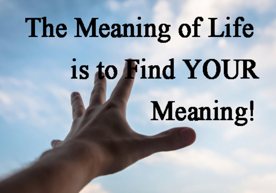 why is it important to live a meaningful life huffpost