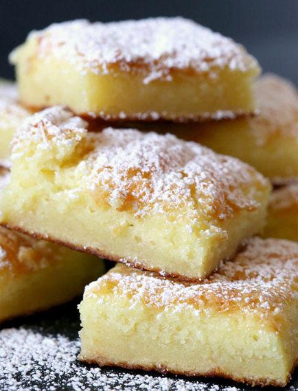 Lemon Bars With White Cake Mix And Lemon Pie Filling