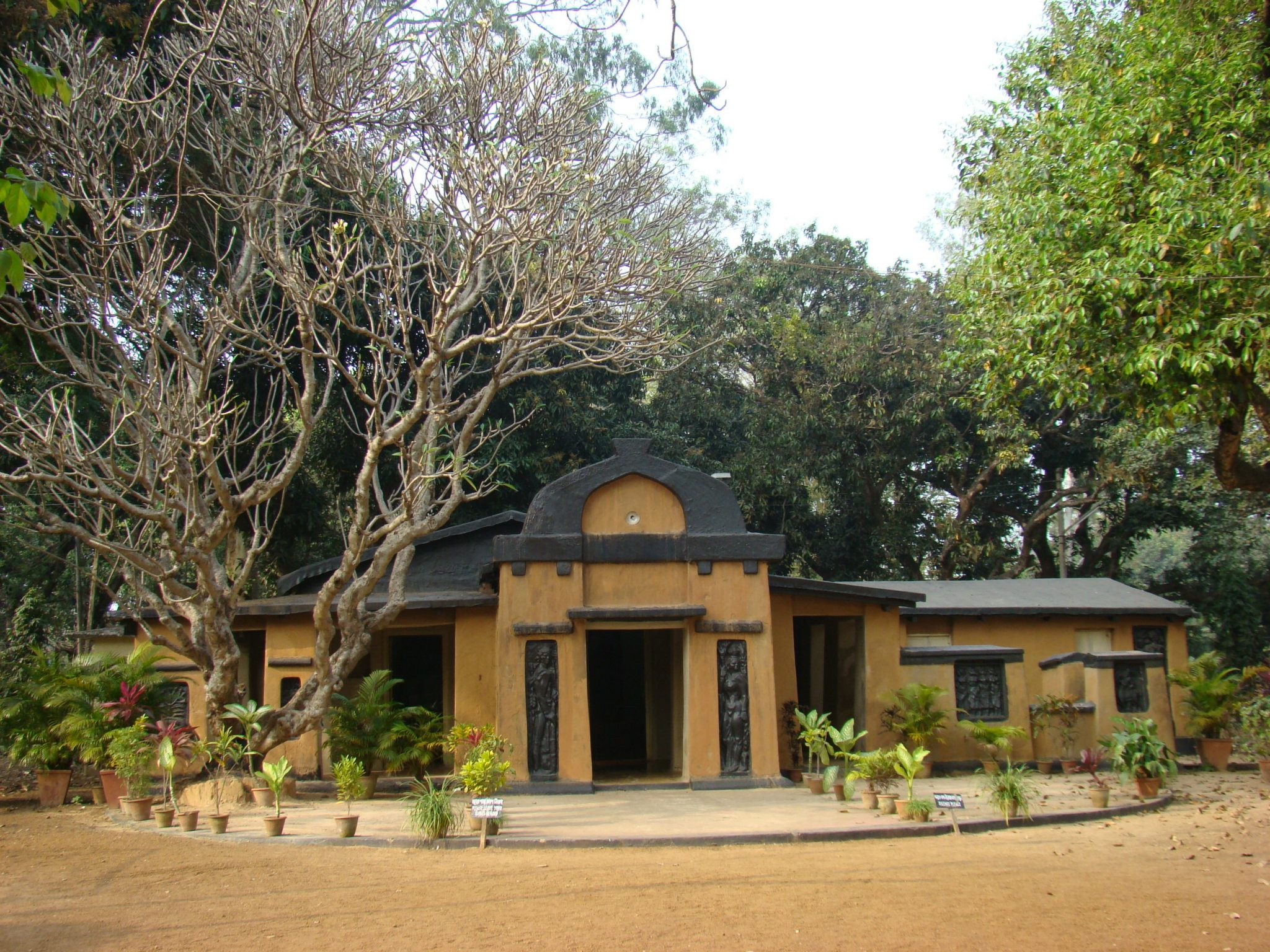 The constitution of india as a work of art for Shantiniketan tagore