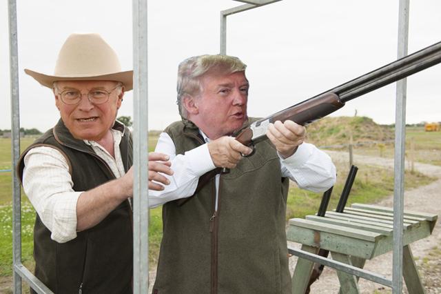 Cheney dick gun shot