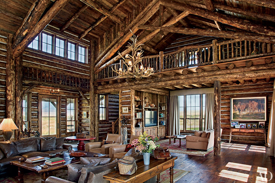Go inside 7 spectacular mountain homes huffpost Mountain home interiors