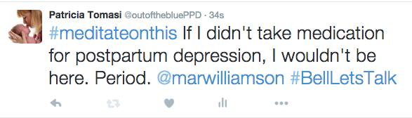 Image result for postpartum depression tweet