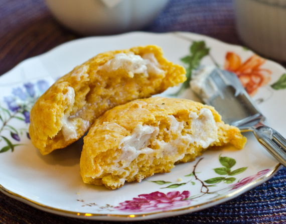 These fluffy sweet potato biscuits, adapted from Paula Deen's Southern ...