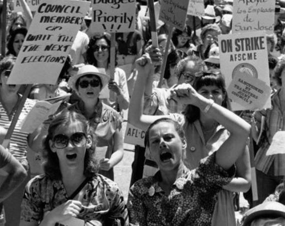 Pay equity strike, San Jose, CA