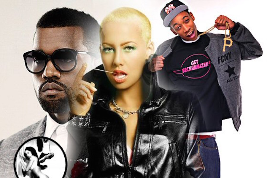 Amber Rose: Kanye West Behaving Like A Clown