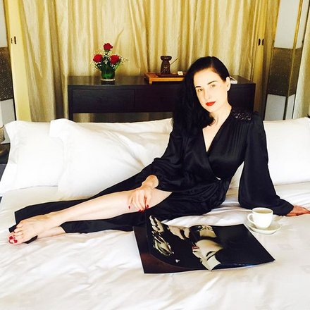 586ce2376b1 Dita Von Teese s 10 Golden Rules For Valentine s Day Lingerie ...