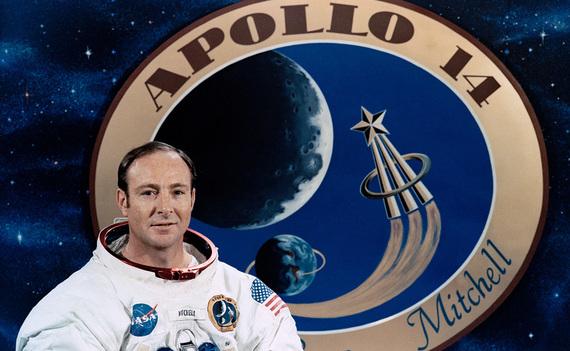 Edgar Mitchell Apollo 14 Astronaut NASA Plaque
