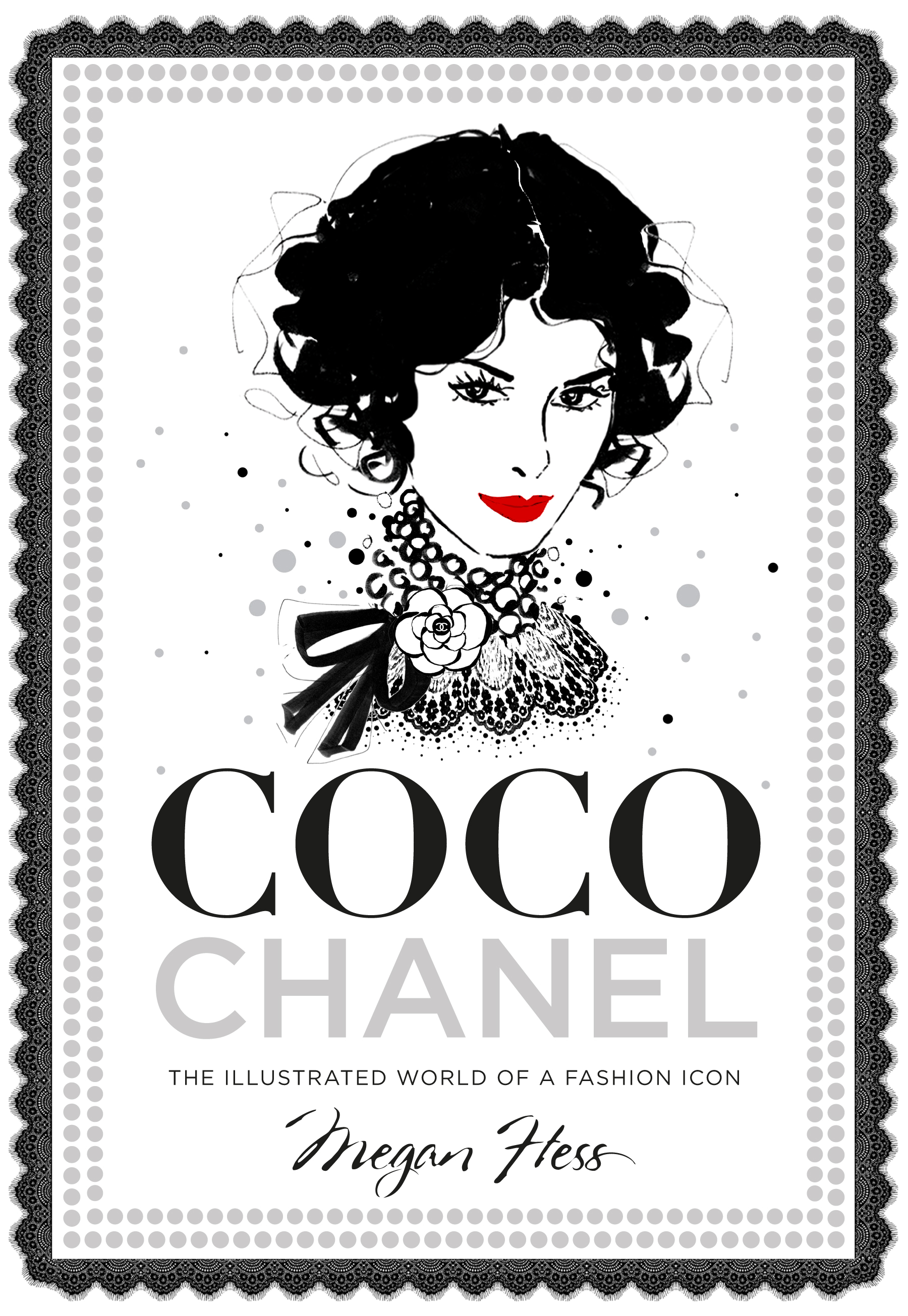 Fashion Book Cover Art ~ Review coco chanel the illustrated world of a fashion