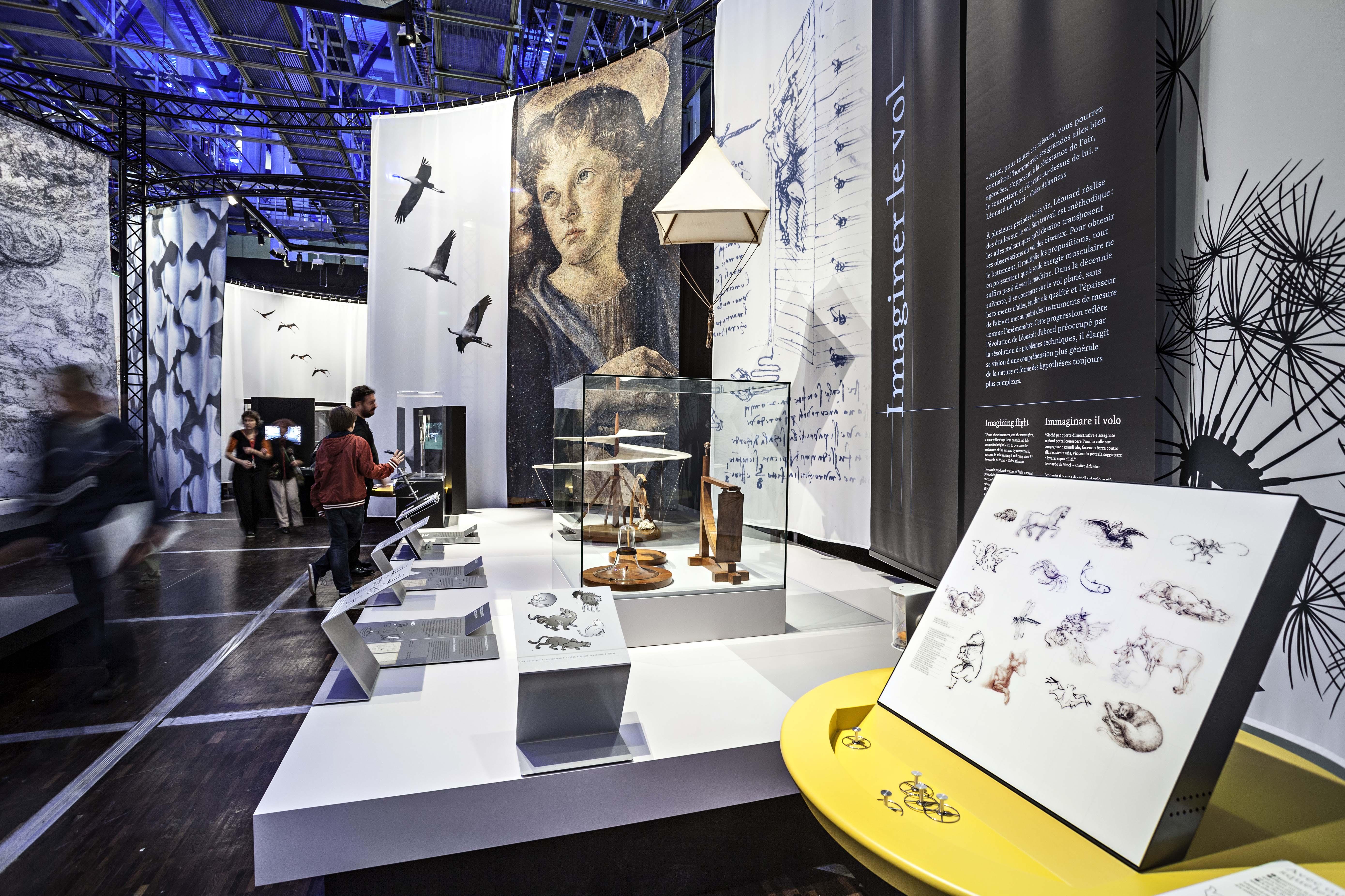 Leonardo D Exhibition : Fascinating leonardo da vinci exhibition opens at science museum