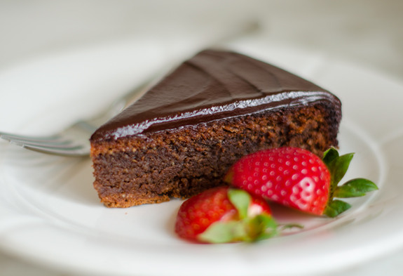 Cakes , this is my all-time favorite flourless chocolate cake ...