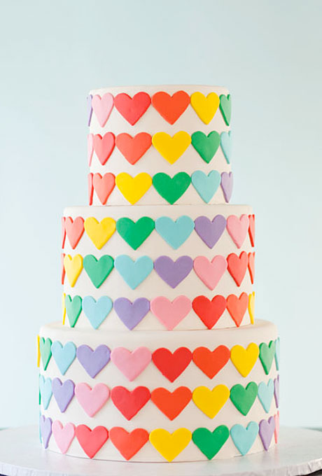 5 Heart Themed Wedding Cakes Just In Time For Valentine S Day