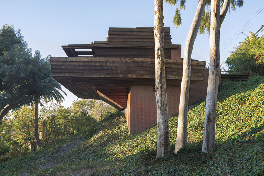 Frank Lloyd Wright House Los Angeles: In L. A., A Wright House At Auction