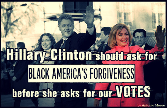 Images Hillary Clinton Should Ask for Black America