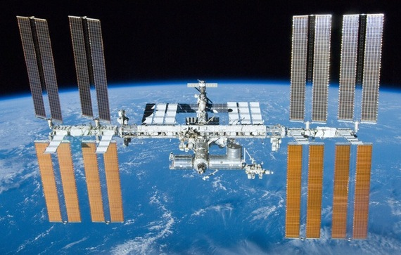 Images What Happens If You Kill Someone on the Moon? 2 International Space Station