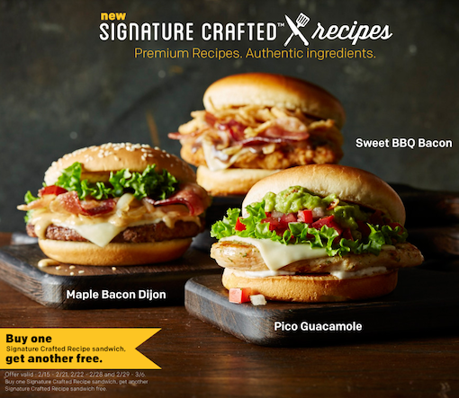 Mcdonald S Tests Signature Crafted Burgers Huffpost