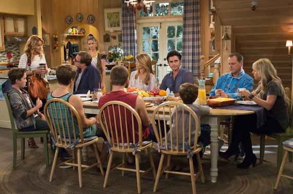 Fuller House' Stars Happy to Be Back, But Admit They Weren't Exactly