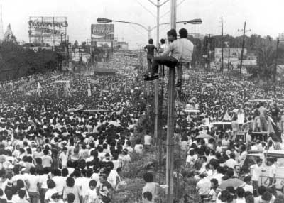 Timeline of the People Power Revolution