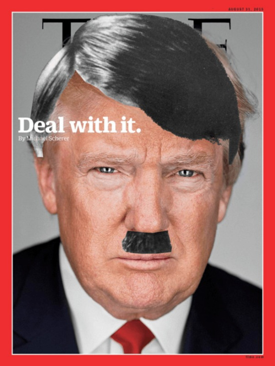 Image result for hitler trump