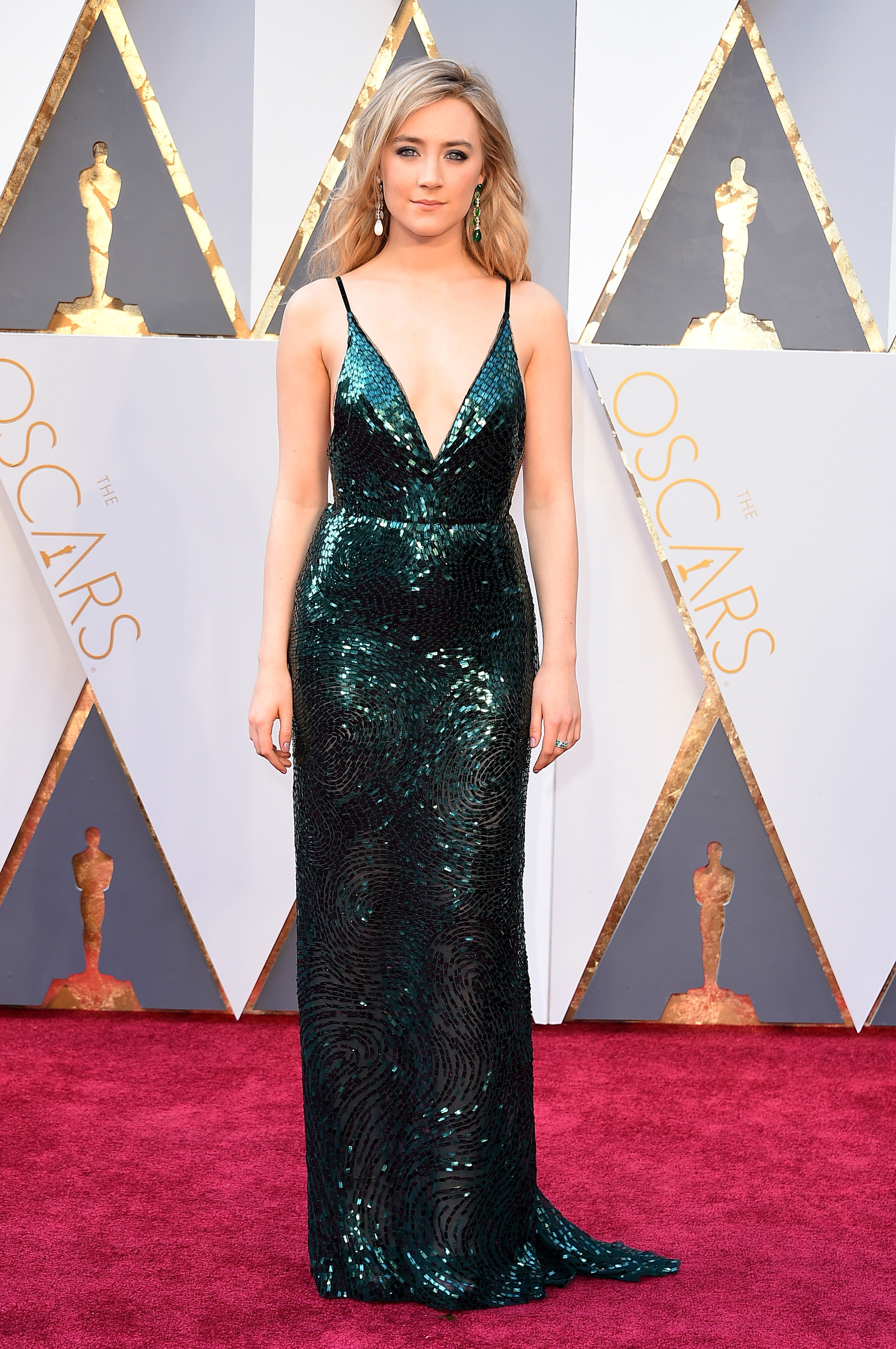 Image result for Saoirse Ronan in Calvin Klein - Academy Awards 2016