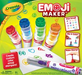 crayola emoji maker color mixing guide