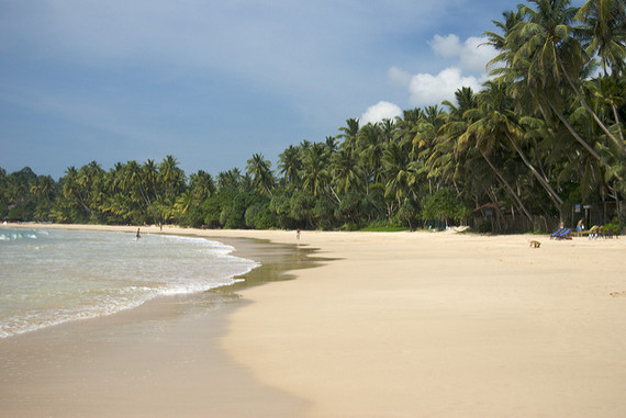 Beach lanka on in the Sex beach sri