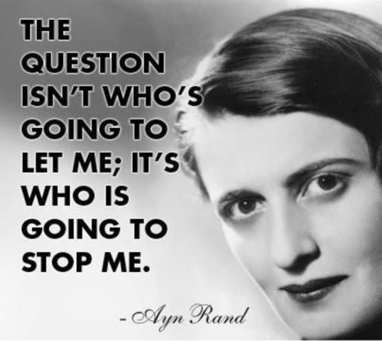 ayn rands exploration of the facets of power in the fountainhead Ayn rand has inspired individuals with a philosophy of reason, purpose, and self -esteem see for yourself what objectivism is all about.