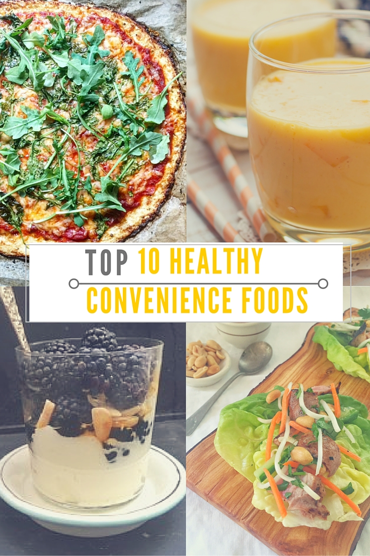 Top 10 Healthy Convenience Foods Huffpost Life