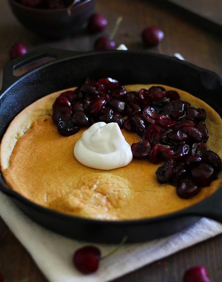 Dutch Baby Pancake with Orange Sugar