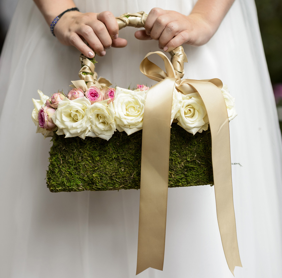 13 Charming Flower Petal Baskets Your Flower Girls Will Adore The