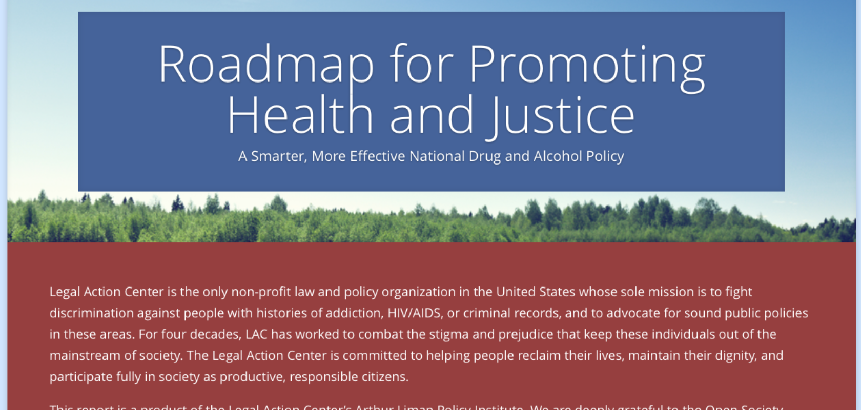 recommendations to improve our criminal justice Mentally ill offenders in the criminal justice system:  1,400 criminal justice officials and policymakers throughout the country, and the  working to improve .