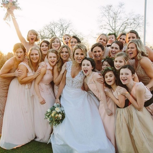 Aspyn Wedding: The Anatomy Of The Picture Perfect Bridal Party