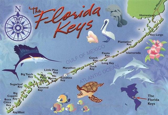 Florida Keys Map Of Beaches.Should You Visit The Florida Keys Huffpost Life