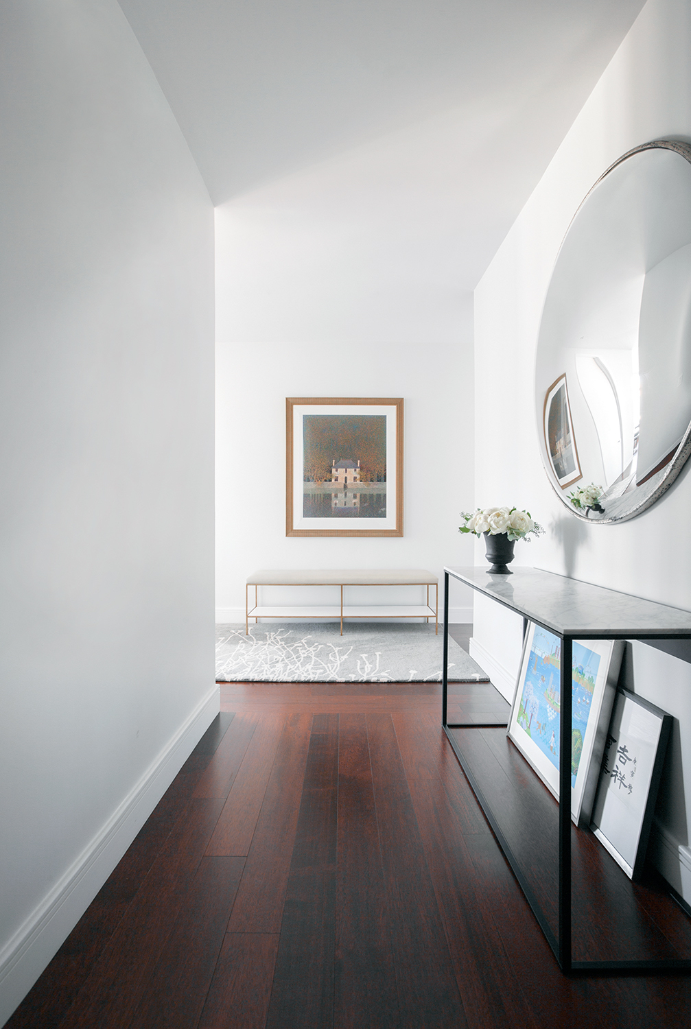 Foyer Minimalist Guide : How to style an entryway table huffpost