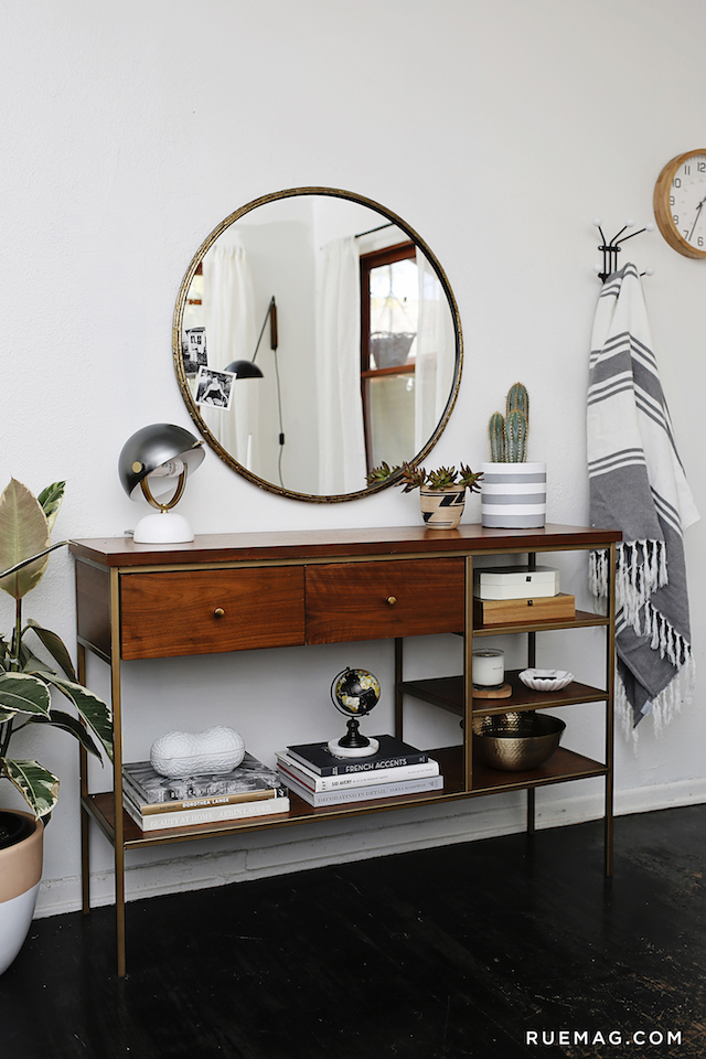 Foyer Console Table Decor : How to style an entryway table huffpost
