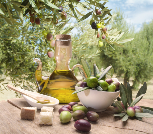are olives on the mediterranean diet
