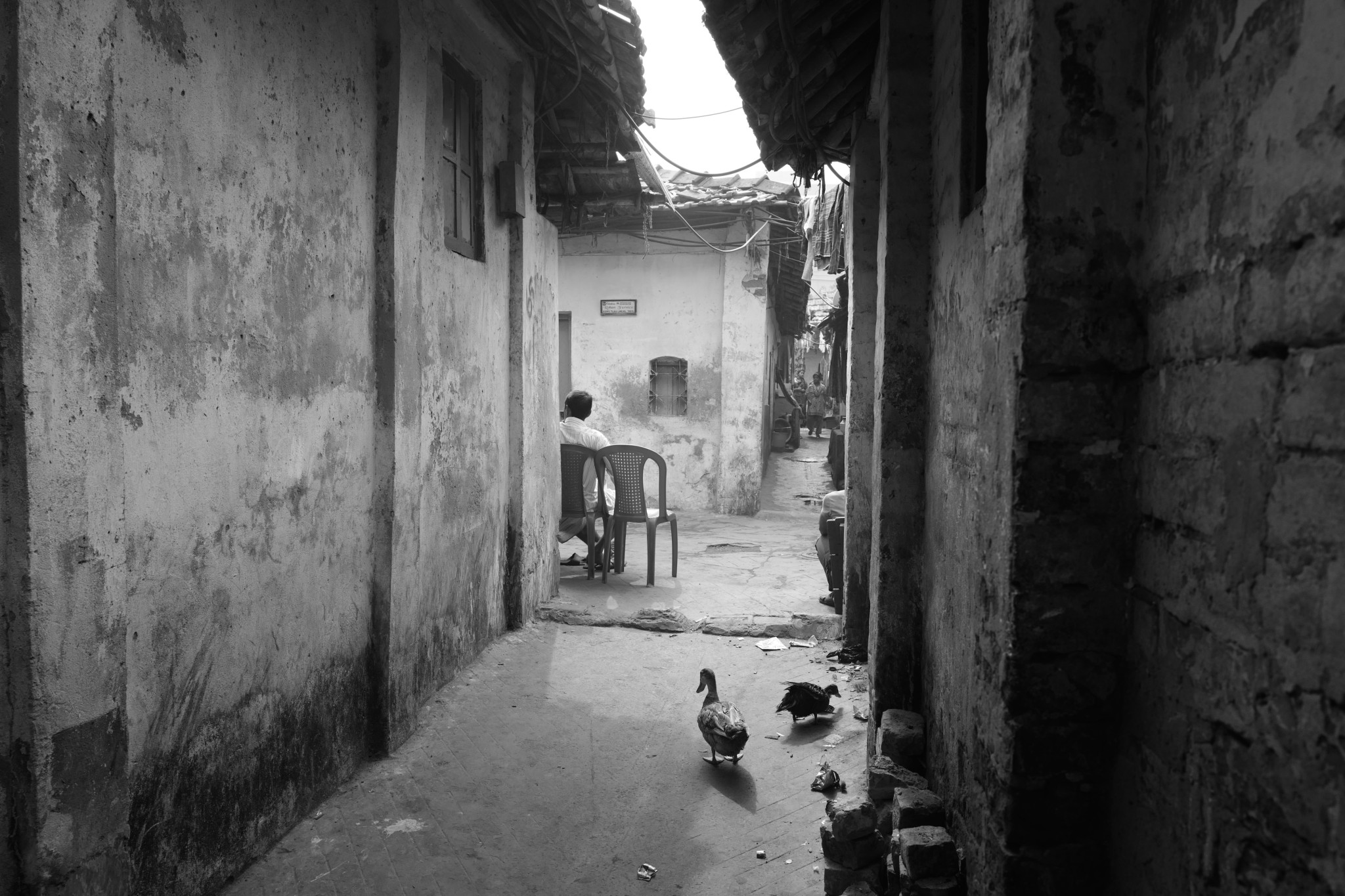Black and white chair photography - Intimacy And Photography By Buku Sarkar