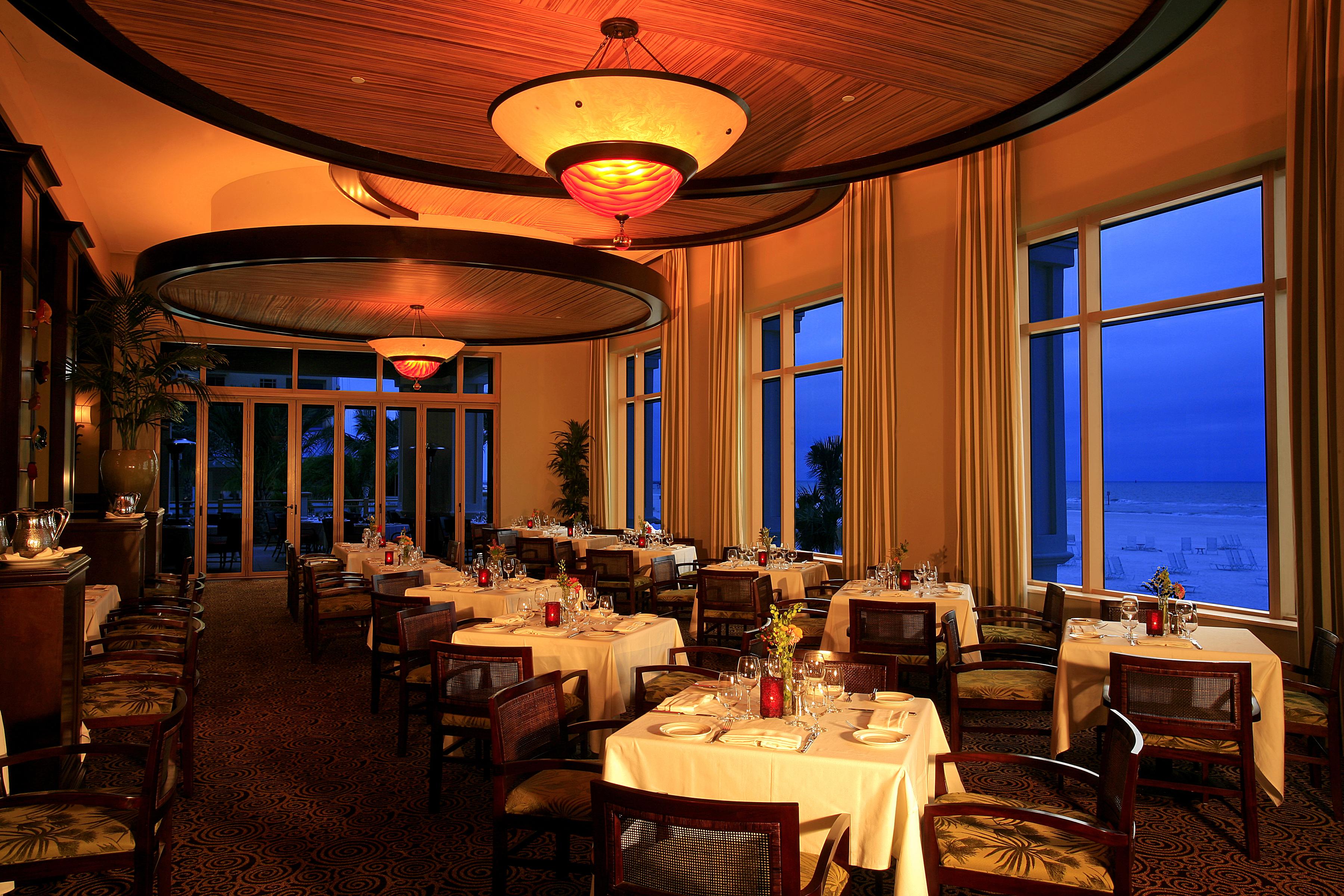 Sandpearl Resort Restaurant Menu
