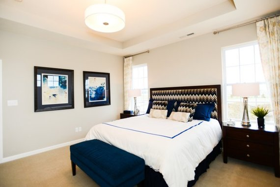 bedroom color for sleep Best Bedroom Colors for Sleep | HuffPost 380 X 570