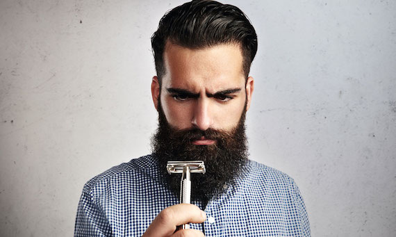 how to transition from a beard to shaving daily huffpost. Black Bedroom Furniture Sets. Home Design Ideas