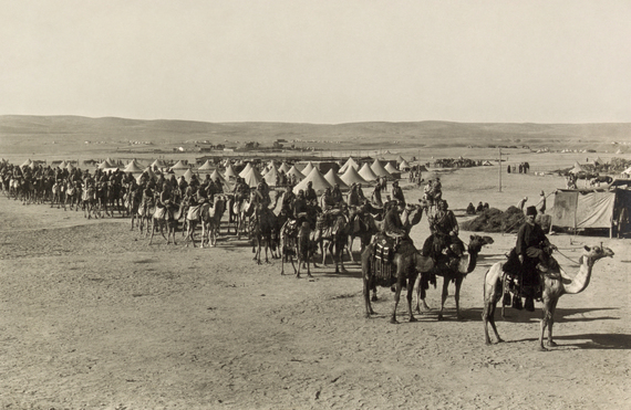 Images This Week in World War I: April 9-15, 1916 | HuffPost 3 palestine