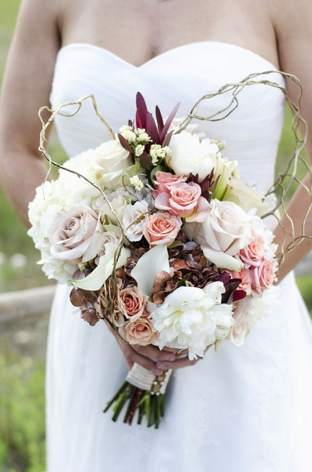 Wedding Bouquet Art Deco Gorgeous Fall Bouquets Huffpost