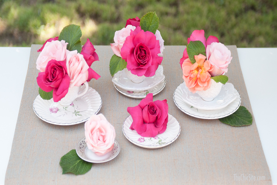 Images 5 DIY Centerpieces for Your Spring Party 3 bridal shower