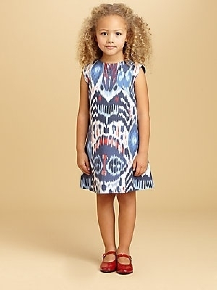 Trend Alert! Patterned Dresses For Flower Girl