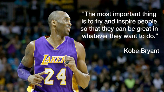 5 Kobe Bryant Quotes To Inspire Greatness And Keep Entrepreneurs Motivated | HuffPost