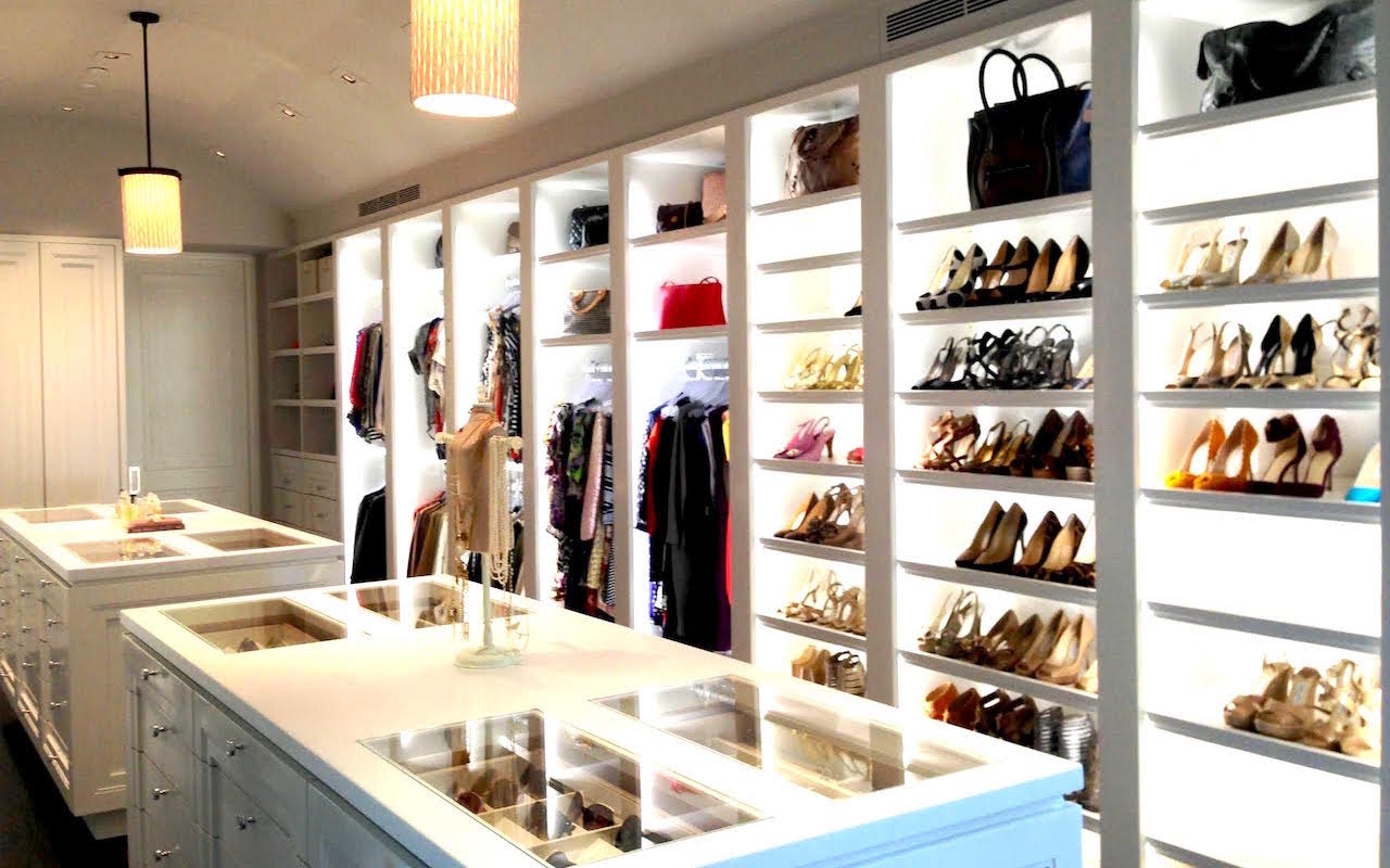 Inside Celebrity Walk In Closets - Celebrity Closet Photos