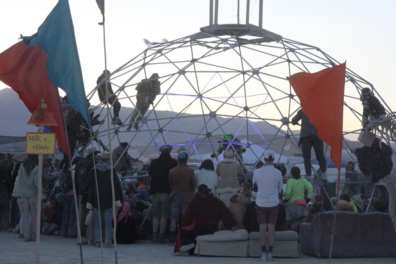 My Jewish Grad School Sent Me to Burning Man  Here's What I