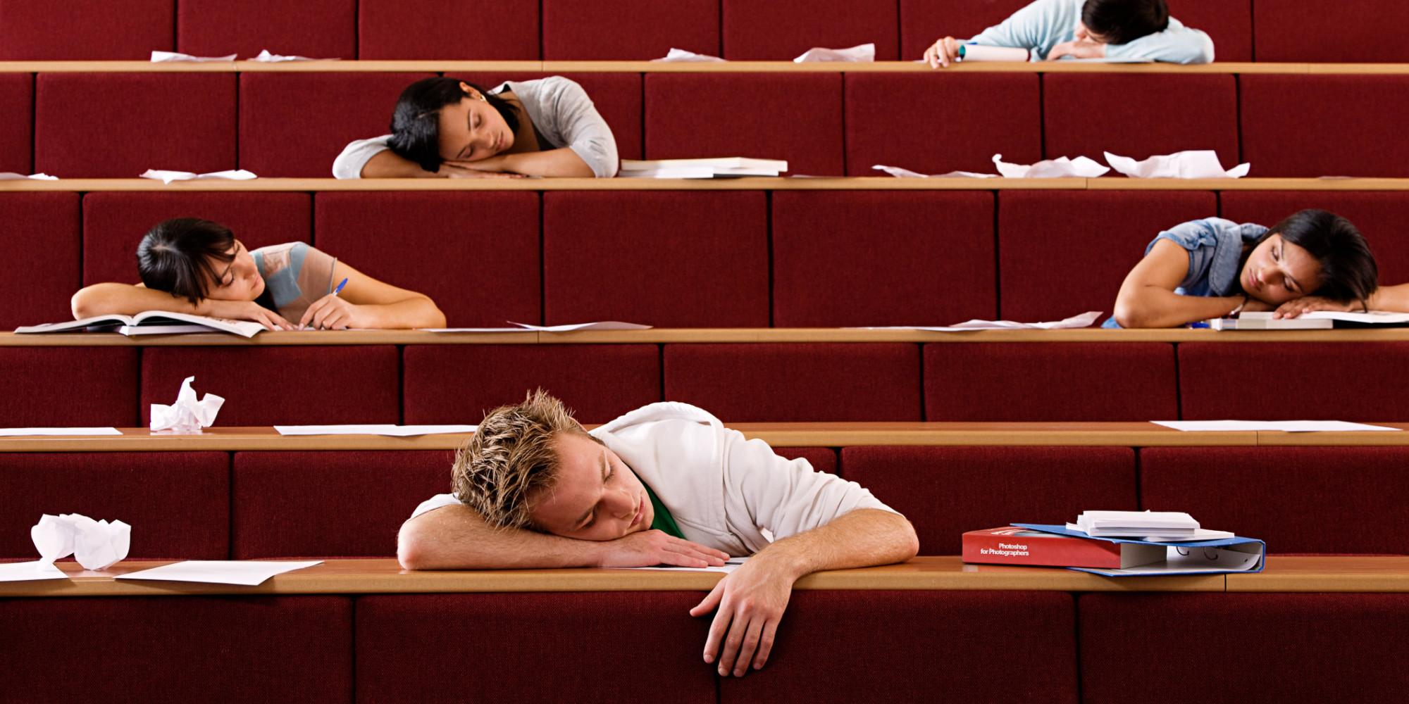 sleep classroom