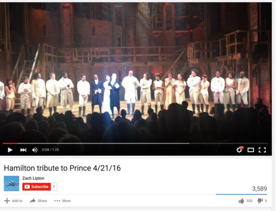 Hamilton's Problematic 'Prince Tribute' | HuffPost