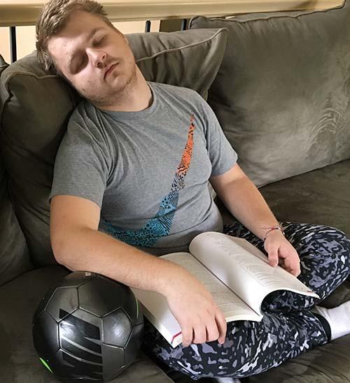 Sleep Is Important For Teen 96